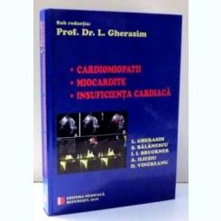 CARDIOMIOPATII , MIOCARDITE , INSUFICIENTA CARDIACA DE L. GHERASIM