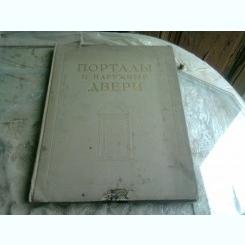 CARTE DE ARHITECTURA USI MONUMENTALE, TEXT IN LIMBA RUSA
