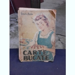 CARTE DE BUCATE , EDITIA A IV - A DE SANDA MARIN , 1959