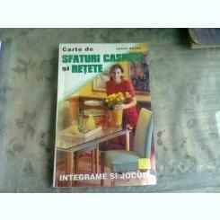 CARTE DE SFATURI CASNICE SI RETETE NR.11 - DRAGA NEAGU