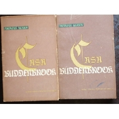 CASA BUDDENBROOK - THOMAS MANN 2 VOLUME