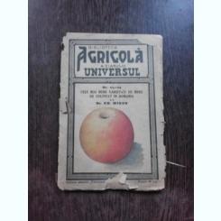 Cele mai bune varietati de mere de cultivat in Romania , Dr. Gh. Miron