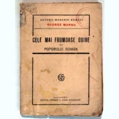 CELE MAI FRUMOASE DOINE ALE POPORULUI ROMAN-GEORGE MURNU
