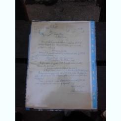 CERERE DIN 1958, A LUI PETRE PANDREA CATRE FONDUL LITERAR SI ADRESA CATRE PETRE PANDREA, DE LA MINISTERUL INVATAMANTULUI CI CULTURII, 1958