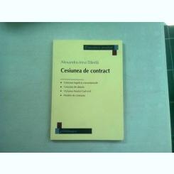 CESIUNEA DE CONTRACT - ALEXANDRA IRINA DANILA