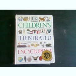 CHILDREN'S ILLUSTRATED ENCYCLOPEDIA - JAYNE PARSONS  (TEXT IN LIMBA ENGLEZA)