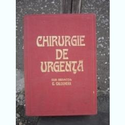 CHIRURGIE DE URGENTA - C. CALOGHERA