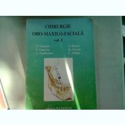 CHIRURGIE ORO-MAXILO-FACIALA - N. GANUTA   VOL.I