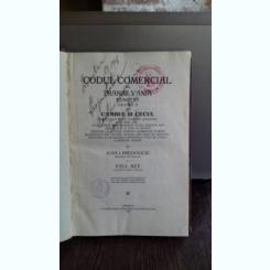 CODUL COMERCIAL DIN TRANSILVANIA ADNOTAT - IOAN I. PREDOVICIU   VOL.2