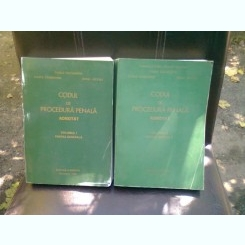 CODUL DE PROCEDURA PENALA ADNOTAT - VASILE  PAPADOPOL   2 VOLUME