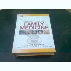 COLOR ATLAS OF  FAMILY MEDICINE - RICHARD P. USATINE  (CARTE IN LIMBA ENGLEZA)