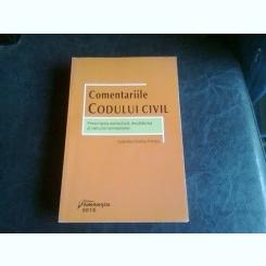 COMENTARIILE CODULUI CIVIL - GABRIELA CRISTINA FRENTIU