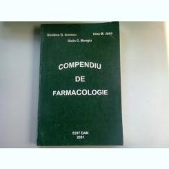 COMPENDIU DE FARMACOLOGIE - DUNAREA G. IONESCU