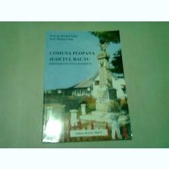 COMUNA PLOPANA JUDETUL BACAU - DORINEL ICHIM  (MONOGRAFIE ETNO ISTORIA)