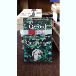 CONCISE DICTIONARY OF QUATATIONS