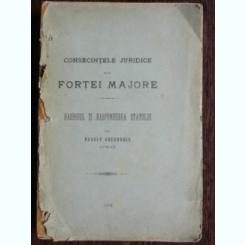 CONSECINTELE JURIDICE ALE FORTEI MAJORE - RUDOLF GHEORGHIU