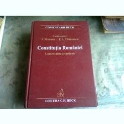 CONSTITUTIA ROMANIEI, COMENTARIU PE ARTICOLE - I. MURARU