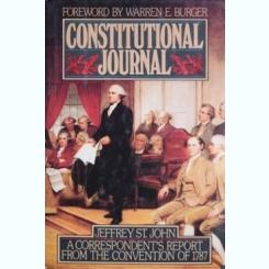 CONSTITUTIONAL JOURNAL, JEFFREY ST. JOHN