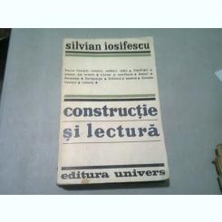 CONSTRUCTIE SI LECTURA - SILVIAN IOSIFESCU