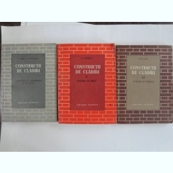 CONSTRUCTII DE CLADIRI - S. ANDREI     3 VOLUME