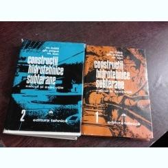 CONSTRUCTII HIDROTEHNICE SUBTERANE - M. BALA VOL.1+2