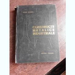 CONSTRUCTII METALICE INDUSTRIALE - VICTOR POPESCU
