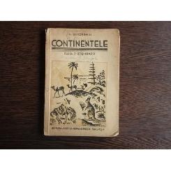 Continentele , Pentru clasa II-a secundara , Nic. Gheorghiu