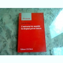 CONTRACTUL DE MANDAT MANDAT IN DREPTUL PRIVAT INTERN - CLAUDIA ROSU