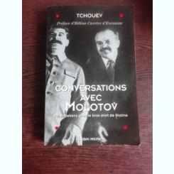 CONVERSATIONS AVEC MOLOTOV   (CARTE IN LIMBA FRANCEZA)