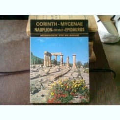 CORINTH - MYCENAE. NAUPLION - TIRYNS - EPIDAURUS  ALBUM