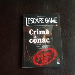 Crima la conac ESCAPE GAME