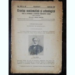 CRONICA NUMISMATICA SI ARHEOLOGICA- APRILIE -IUNIE 1944 NR 130