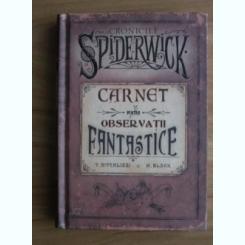 Cronicile Spiderwick. Carnet pentru observatii fantastice