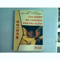 CULEGERE DE CANTECE PENTRU COPII - VALENTIN MORARU