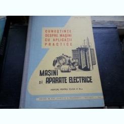 CUNOSTINTE DESPRE MASINI CU APLICATII PRACTICE MASINI ELECTRICE -ENE MARIN