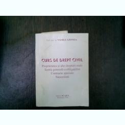 Curs de drept civil - Vasile Gionea