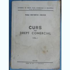 CURS DE DREPT COMERCIAL-CONSTANTIN C.BALESCU,VOLUMUL I