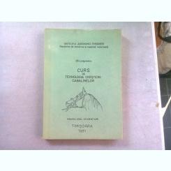 CURS DE TEHNOLOGIA CRESTERII CABALINELOR - GH. LUNGULESCU