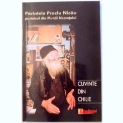 CUVINTE DIN CHILIE - PARINTELE PROCLU NICAU