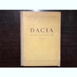 DACIA. REVUE D'ARCHEOLOGIE ET D'HISTOIRE ANCIENNE, NOUVELLE SERIE, VOL.XVII,1973