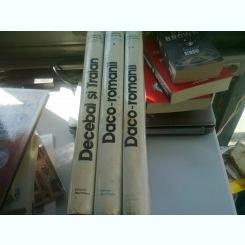 DACO -ROMANII 2 VOLUME SI DECEBAL SI TRAIAN - ION MICLEA ,RADU FLORESCU