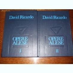 David Ricardo - OPERE ALESE, 2 vol.