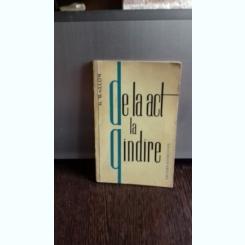 DE LA ACT LA GANDIRE - H. WALLON
