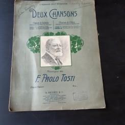 DEIX CHANSOSNS, MUZICA DE F. PAOLO TOSTI