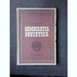 DEMOCRATIA SOVIETICA - D. ZASLAVSKI
