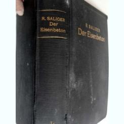 DER EISENBETON - R. SALIGER   (OTEL SI BETON)