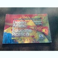 DESEN ARTISTIC SI EDUCATIE PLASTICA - NICOLAE FILOTEANU (MANUAL CLASA A V-A)