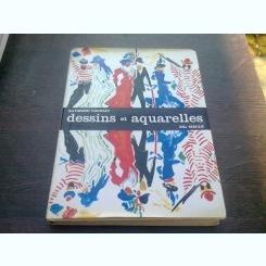 DESSINS ET AQUARELLES - RAYMOND COGNIAT  (ALBUM, TEXT IN LIMBA FRANCEZA)