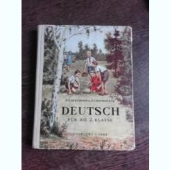 DEUTSCH FUR DIE II KLASSE (GERMANA PENTRU CLASA A II-A)