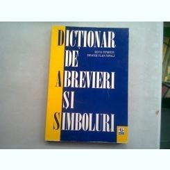 DICTIONAR DE ABREVIERI SI SIMBOLURI - SILVIA PITIRICIU